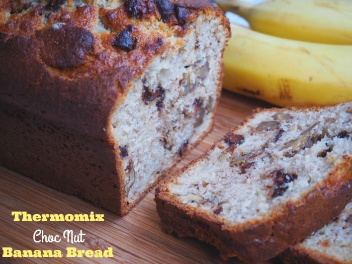 Thermomix Choc Nut Banana Bread