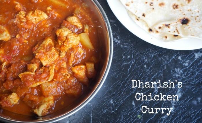 Dharish's Chicken Curry
