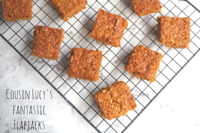 Cousin Lucy's Fantastic Flapjacks