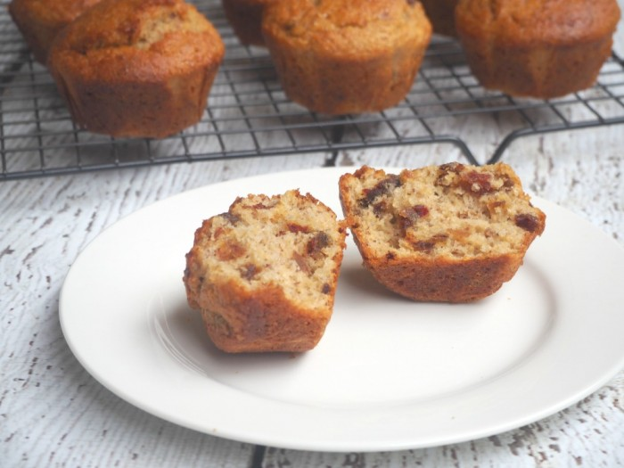 Date and LSA Muffins