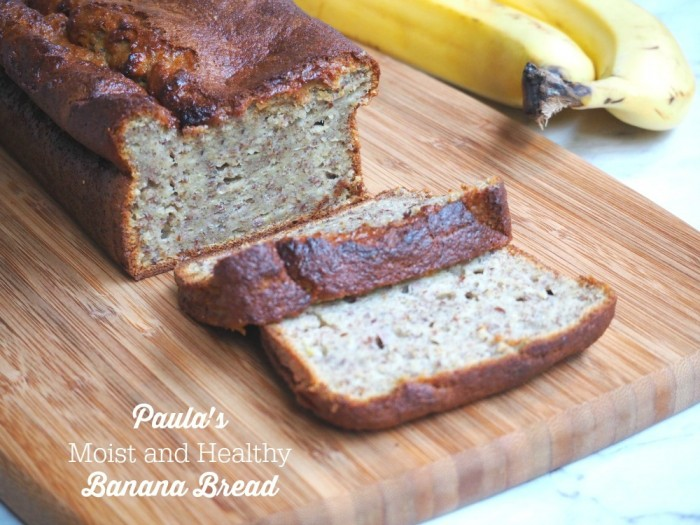 Paula's Moist and Healthy Banana Bread