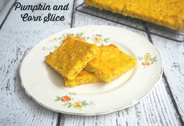 Meatless Monday: Pumpkin and Corn Slice