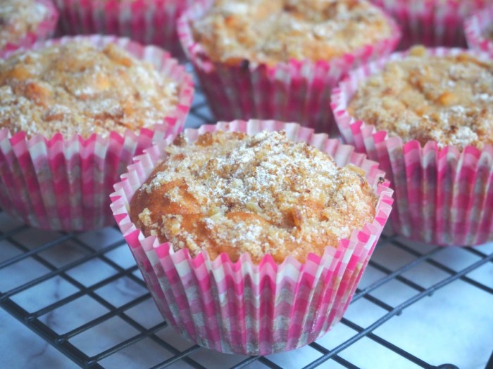 Apple and Raspberry Muffins