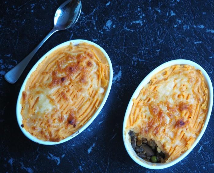 Slow Cooker Golden Veggie Shepherd's Pie