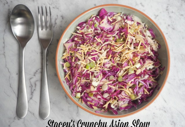 Stacey's Crunchy Asian Slaw