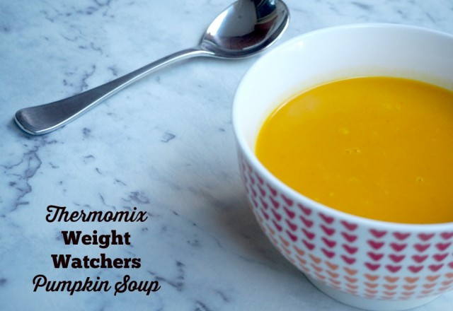 Thermomix Weight Watchers Pumpkin Soup
