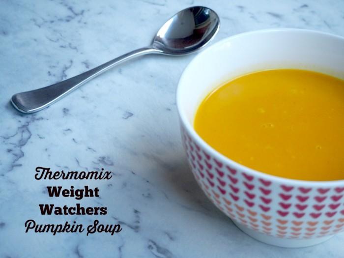 Thermomix Weight Watchers Pumpkin Soup