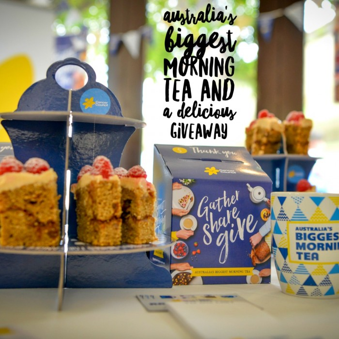 Australia's Biggest Morning Tea and a Giveaway