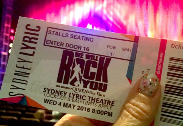 Get Ready to Rock – We Will Rock You is in town!
