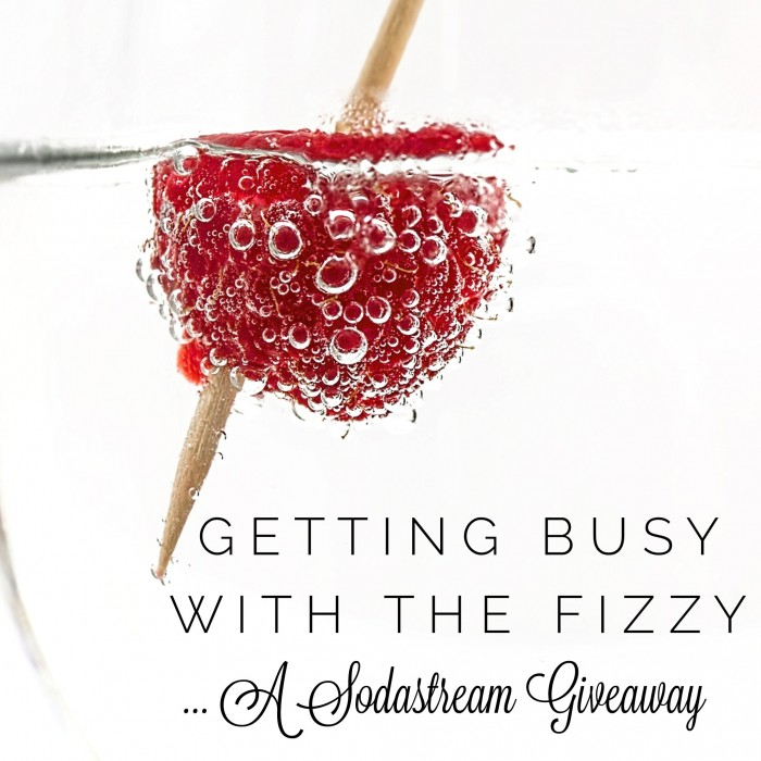 Getting Busy with the Fizzy A Sodastream Giveaway