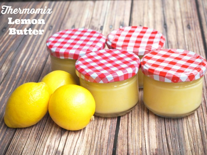 Thermomix Lemon Butter