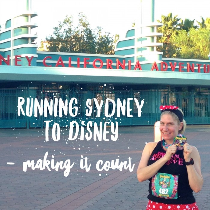 Running Sydney to Disney 2016