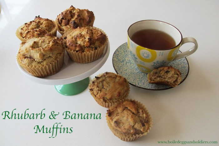 rhubarb-banana-muffins-Boiled Eggs and Soldiers