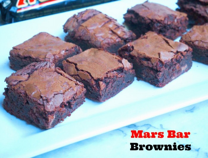 Mars Bar Brownies