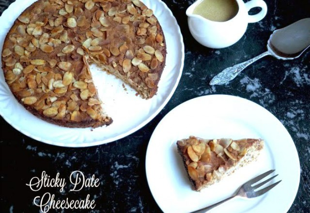 Sticky Date Cheesecake