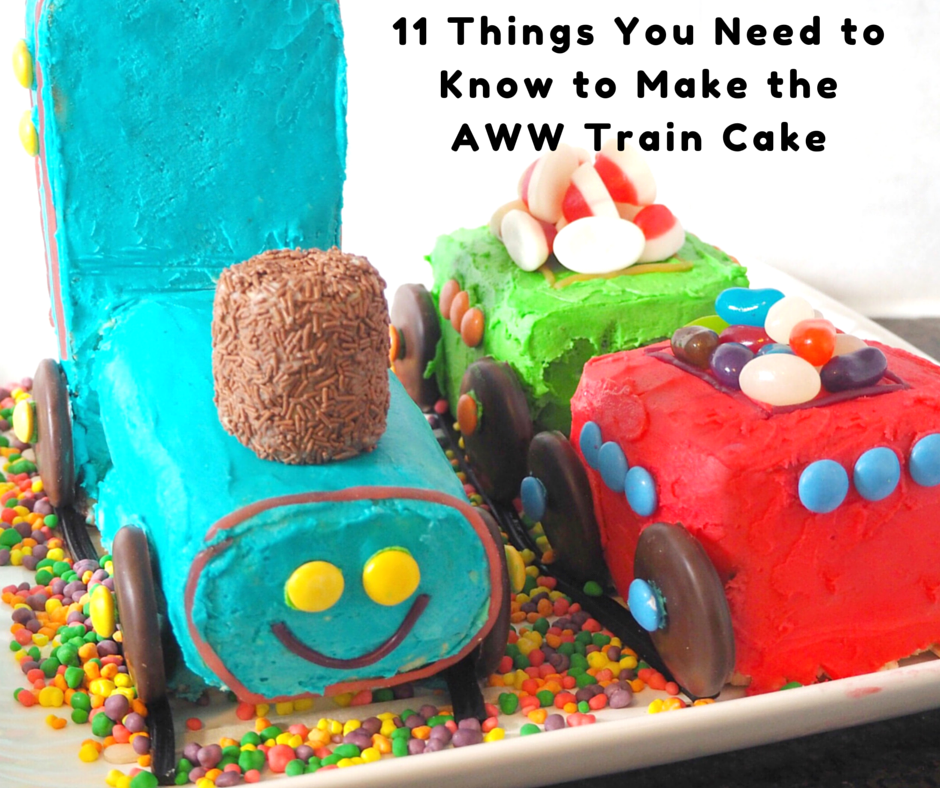 11 Things You Need To Know To Make The Aww Train Cake