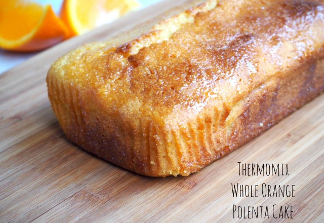 Thermomix  Whole Orange Polenta Cake