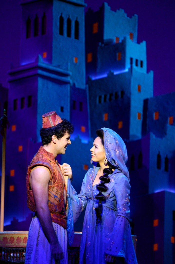 Aladdin & Jasmine Together - Ainsley Melham and Arielle Jacobs_Photo By Deen van Meer