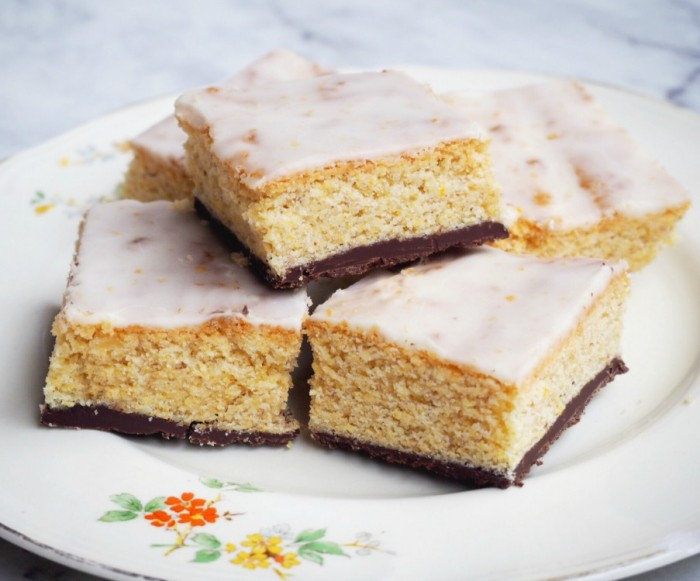 Chocolate and Orange Polenta Squares 3