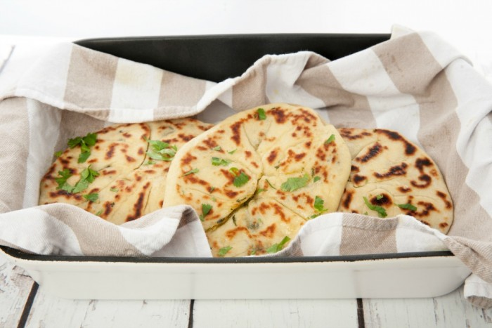 Garlic Stuffed Naan Gourmet Getaways