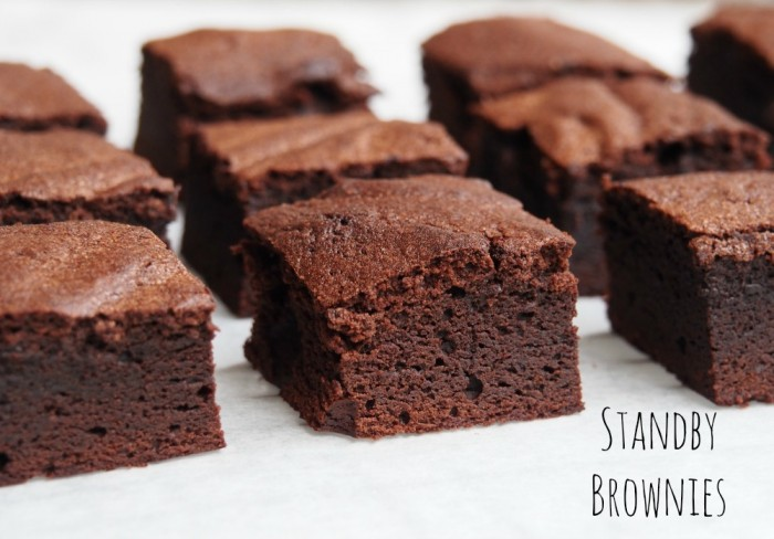 Standy Brownies