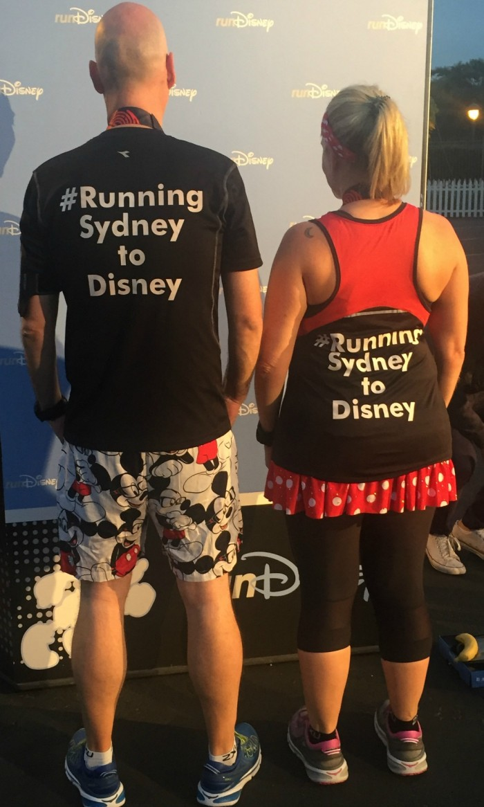 TS 2 - #runningsydneytodisney
