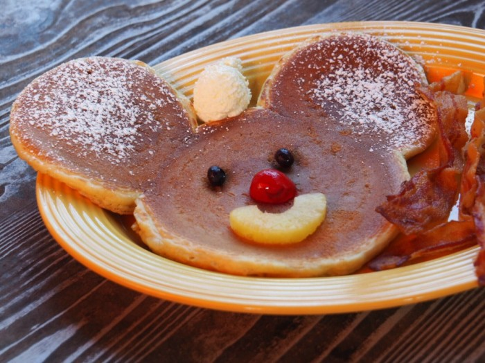 Taking Stock - Mickey Mouse pancakes