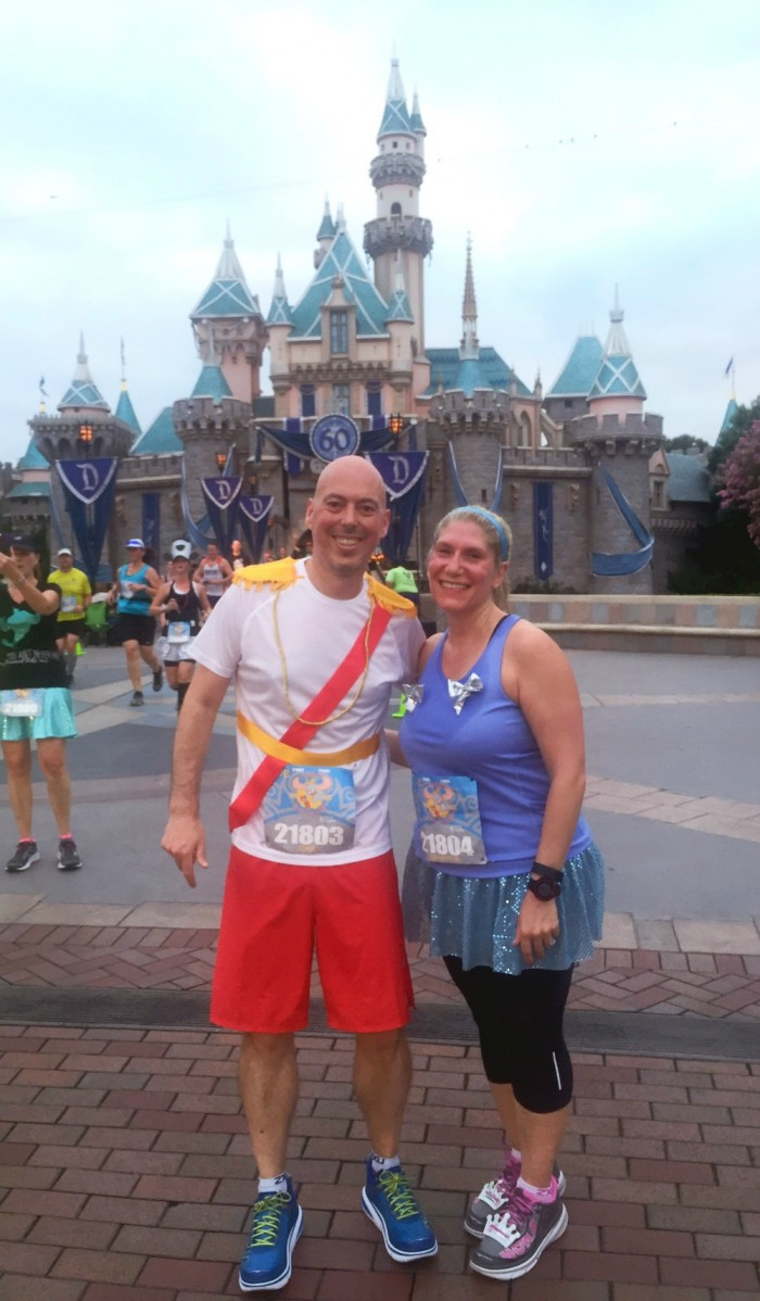 Taking Stock Disneyland - Cinderella and Prince Charming running costume