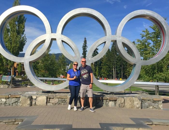 Olympic rings - Whistler