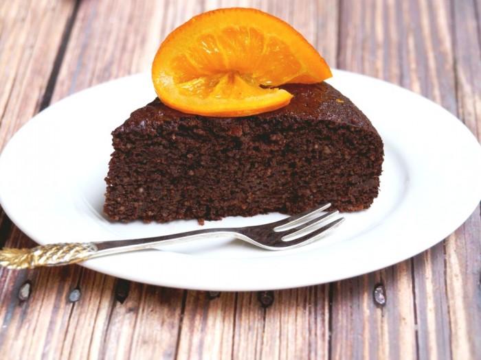Flourless Jaffa Cake 2