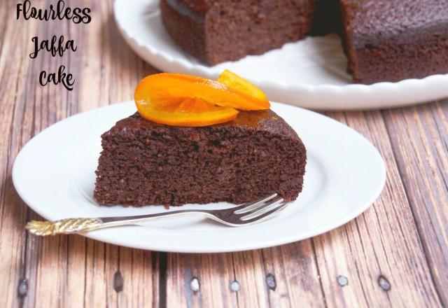Cooker & A Looker's Flourless Jaffa Cake