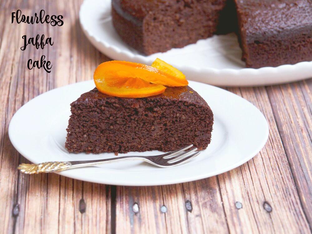 Flourless Jaffa Cake