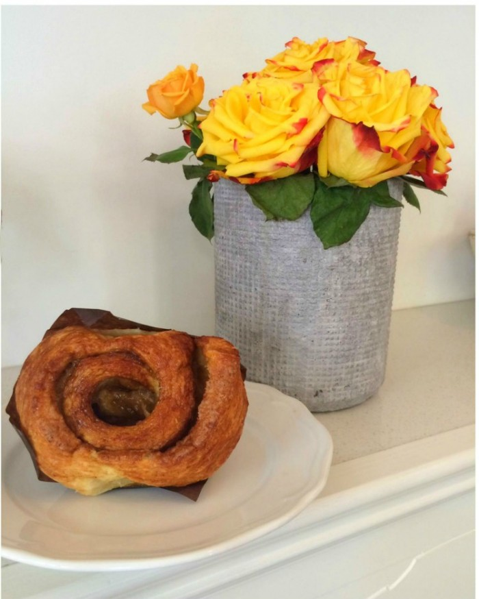 20 places to eat and drink in Vancouver - Cadeaux Bakery Cinnamon Swirl