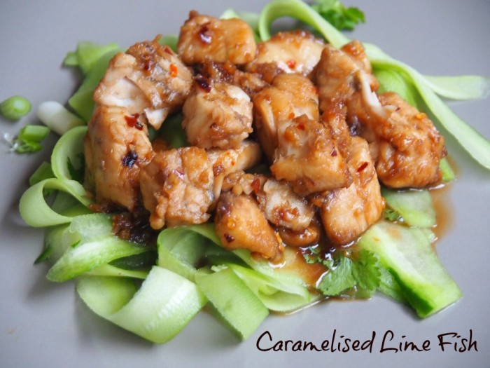 Caramelised Lime Fish
