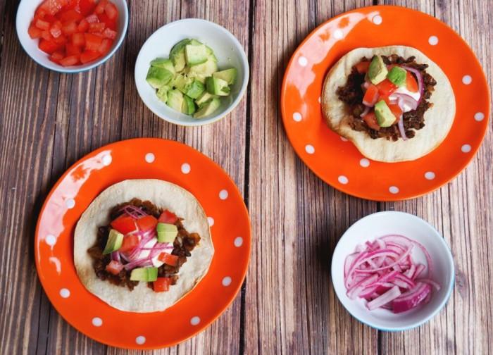 Black Bean, Avocado and Tomato Tostadas 4