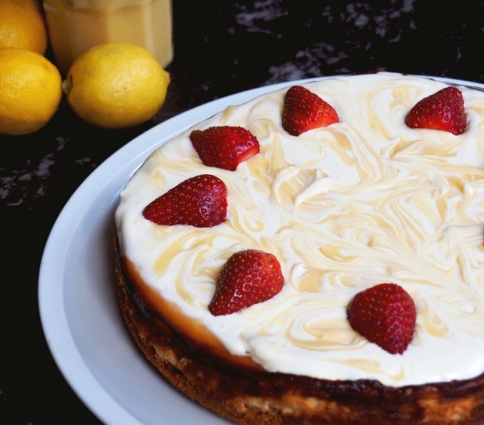 Luscious Lemon Baked Cheesecake 3
