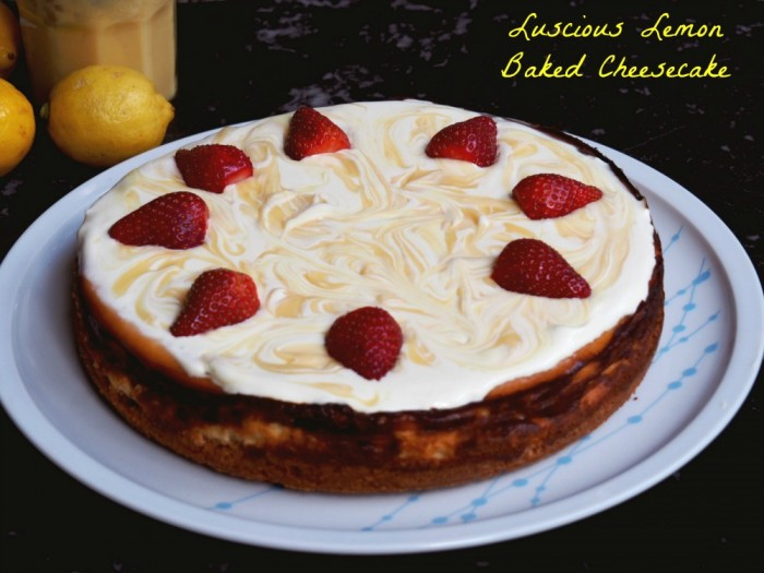 Luscious Lemon Cheesecake 1