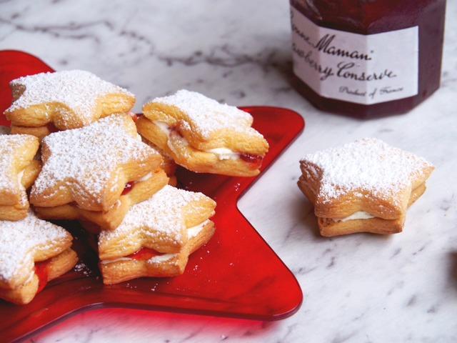 Vanilla Jam Star Cookies 2