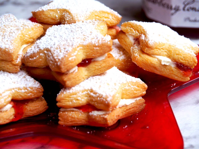 Vanilla Jam Star Cookies 3