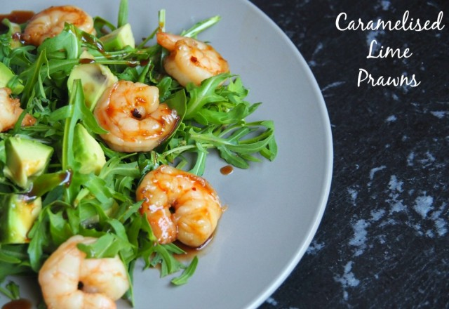 Caramelised Lime Prawns