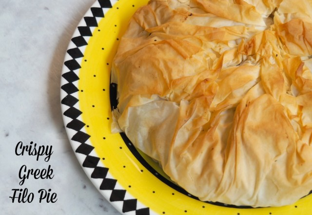 Meatless Monday – Crispy Greek Filo Pie