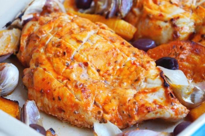 Harissa Chicken Traybake 2