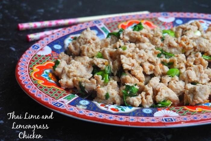 Thai Lime and Lemongrass Chicken