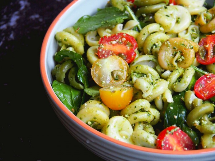 Kale and Basil Pesto Salad 4