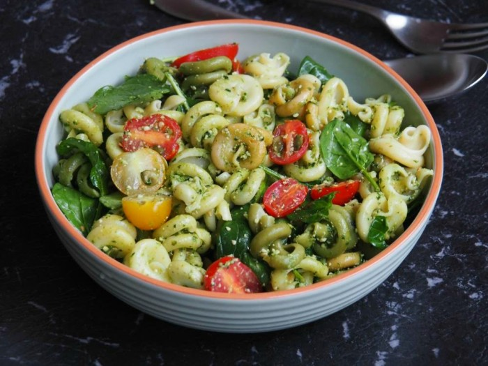 Kale and Basil Pesto Salad 3