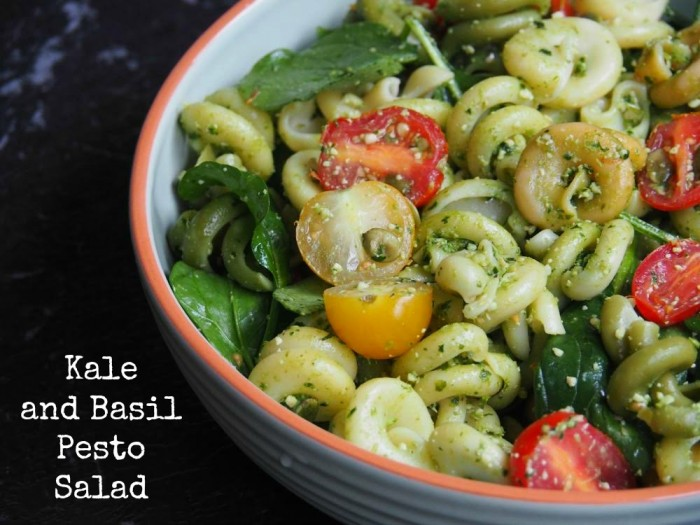 Kale and Basil Pesto Salad 1