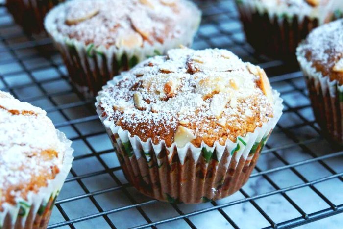 Christmas Marzipan Muffins 3