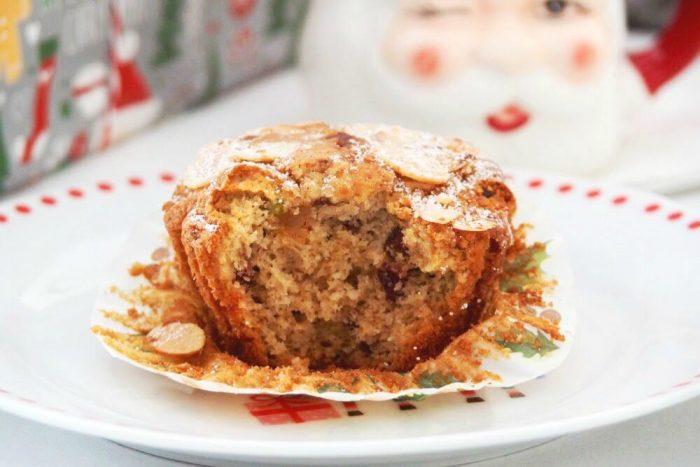 Christmas Marzipan Muffins 2
