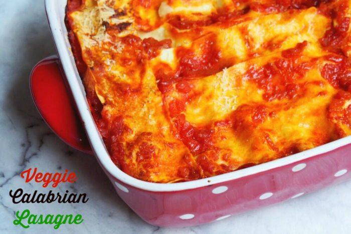 Veggie Calabrian Lasagne