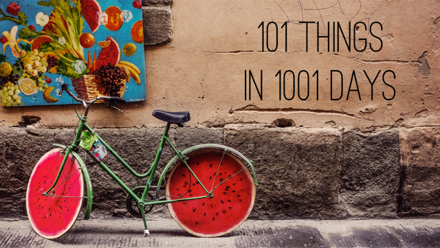 101 things to do in 1001 days V2